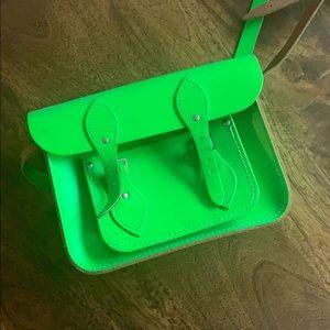 Green Cambridge Satchel Company Bag